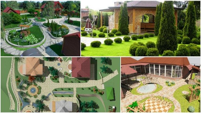 Ландшафтный дизайн: планирование участка