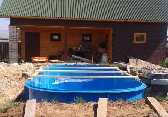 Котлованный бассейн