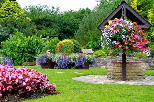 Декоративный сад на даче