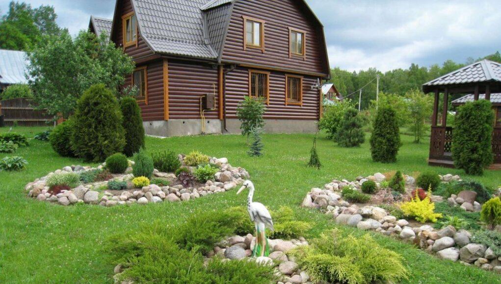 благоустройство и озеленение дачного участка